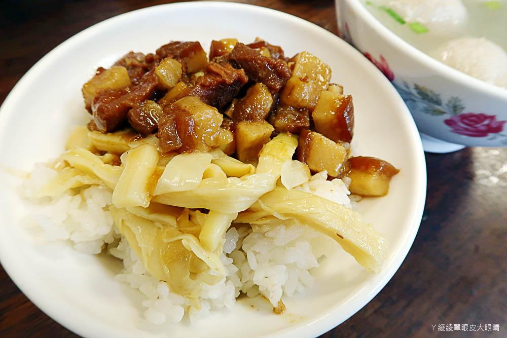 新竹滷肉飯推薦!阿明滷肉飯 光華店,道地的銅板美食小吃