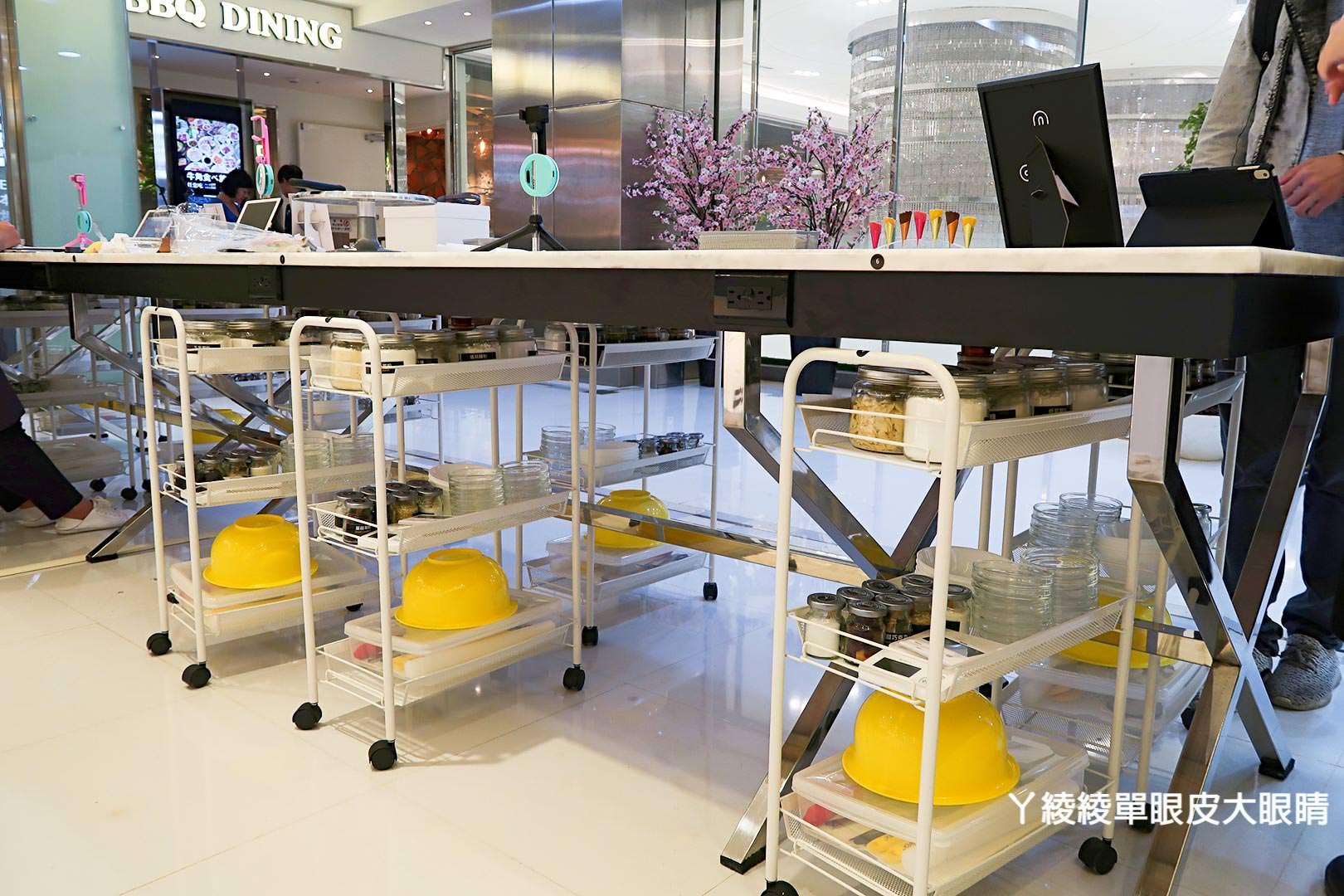 新竹大遠百新開幕烘焙DIY,來自台北東區的《Funsiamo》