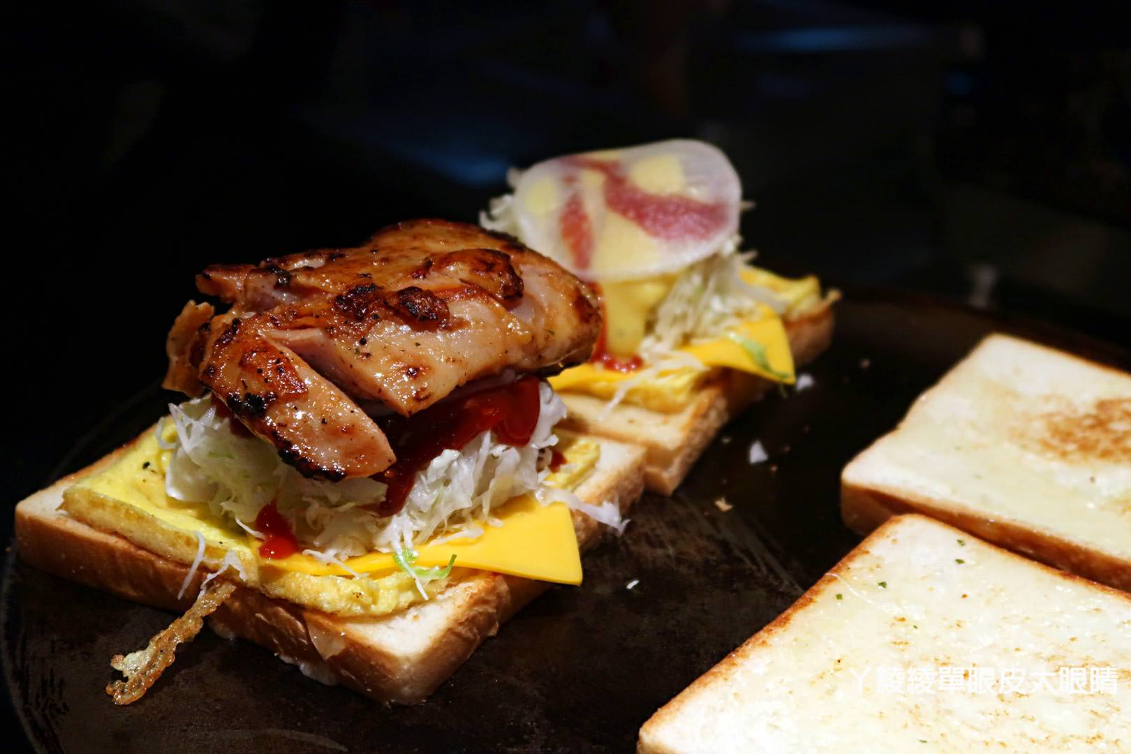 新竹早午餐|下午茶外送推薦!超人氣韓式煎吐司在《晨曦OPPA吐司》
