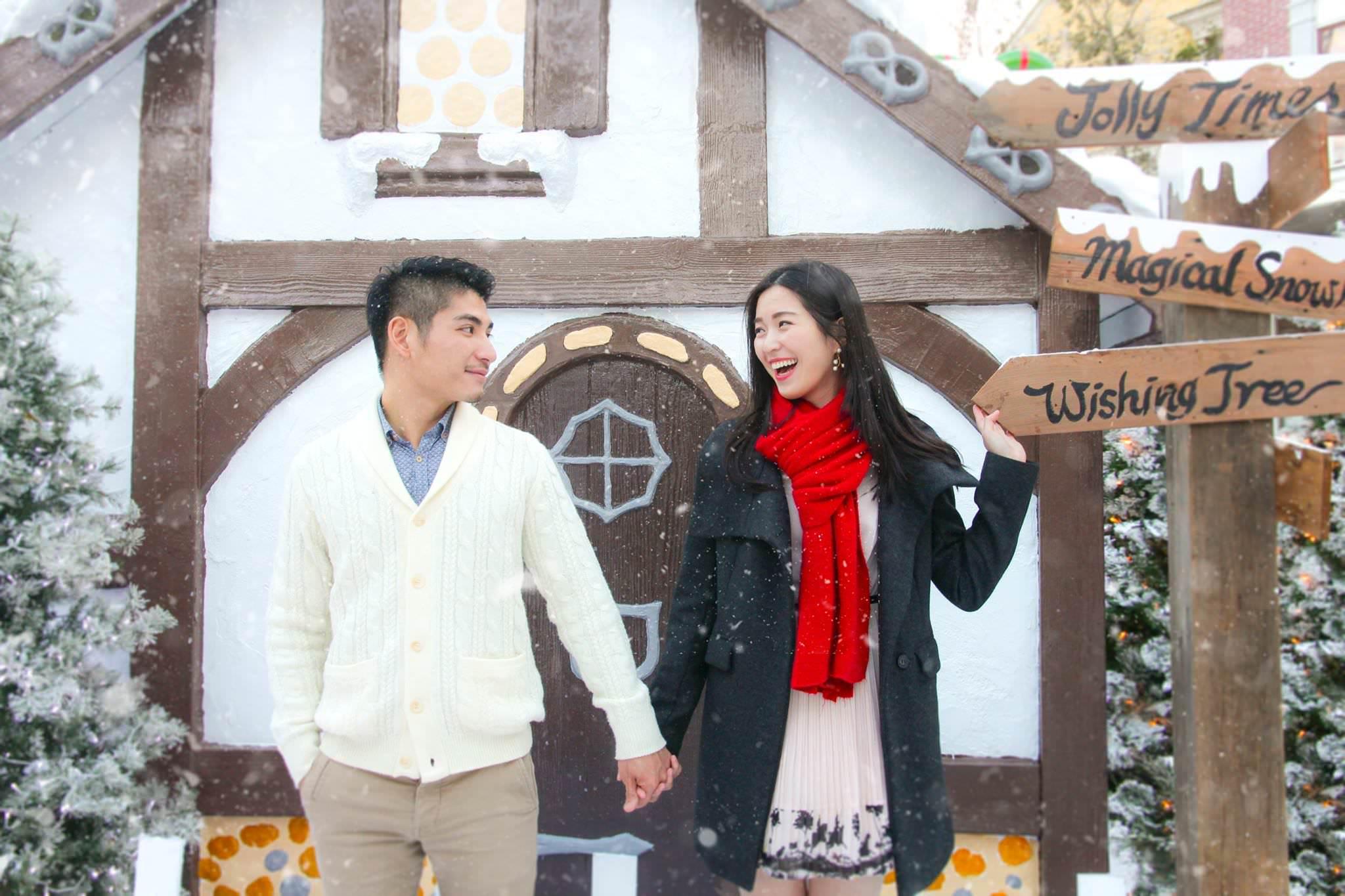 新竹下雪了!全台最浪漫的夢幻白雪耶誕村!聖誕老人來台灣啦!