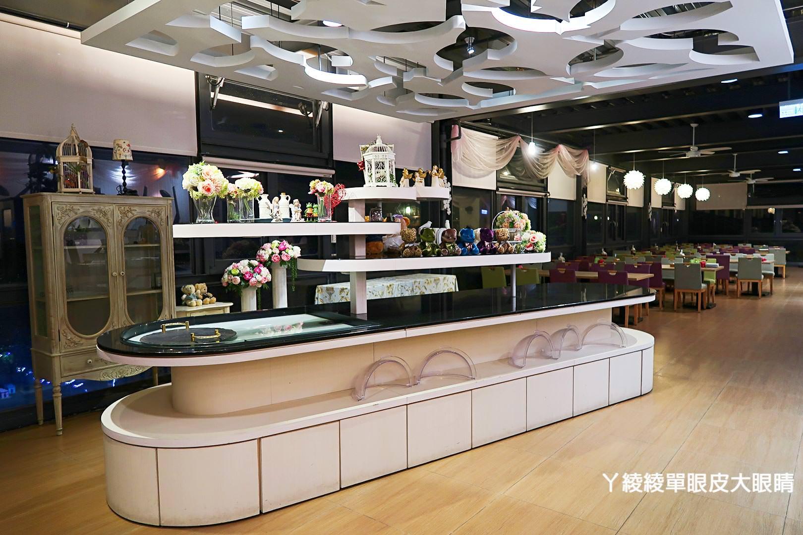 新竹景觀餐廳看夜景推薦綠芳園咖啡庭園餐廳,超大熊熊玻璃屋(已改名愛家農場)
