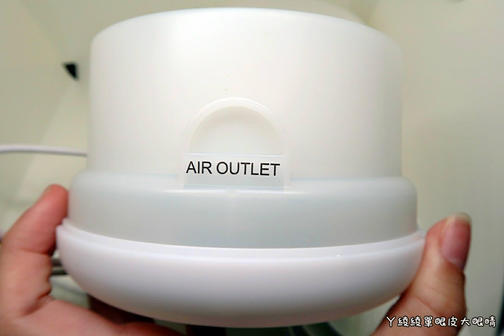 辦公室療癒小物|中景科技E-books J1森呼吸負離子香氛保濕水氧機