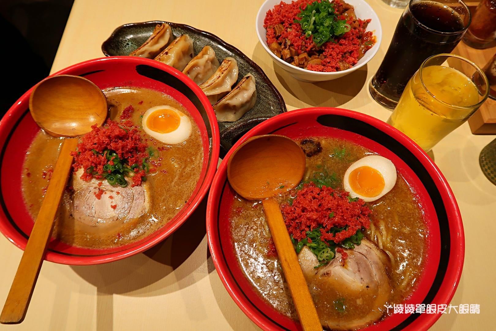 台中平價拉麵推薦|一幻拉麵!中友百貨湯頭超蝦的北海道拉麵
