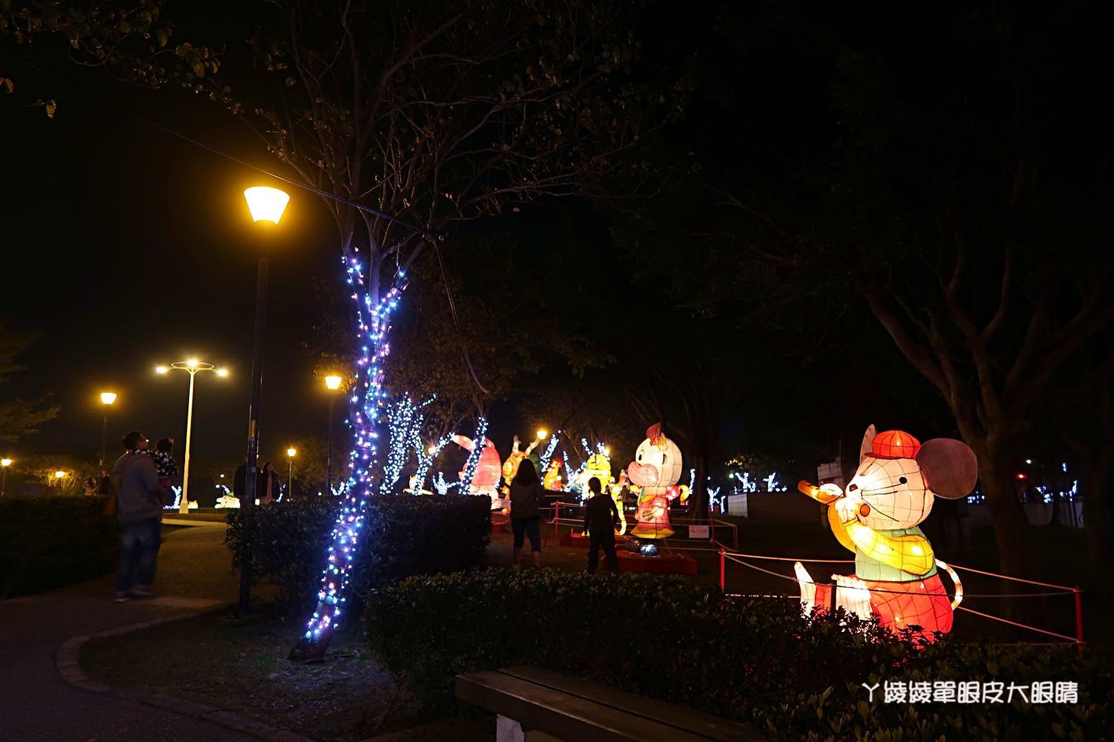 2018新竹縣竹北市元宵節燈會!狗年燈會活動|猜燈謎|小提燈發放時間|藝人表演|文化公園地址