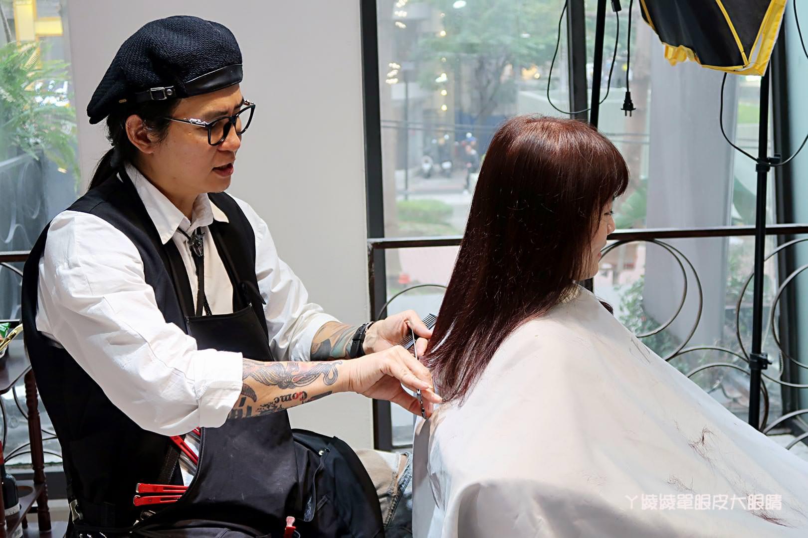 台北中山區捷運中山站染護髮,FIN Hair Salon一店設計師ANDY,染髮就要質感又低調的霧面色系