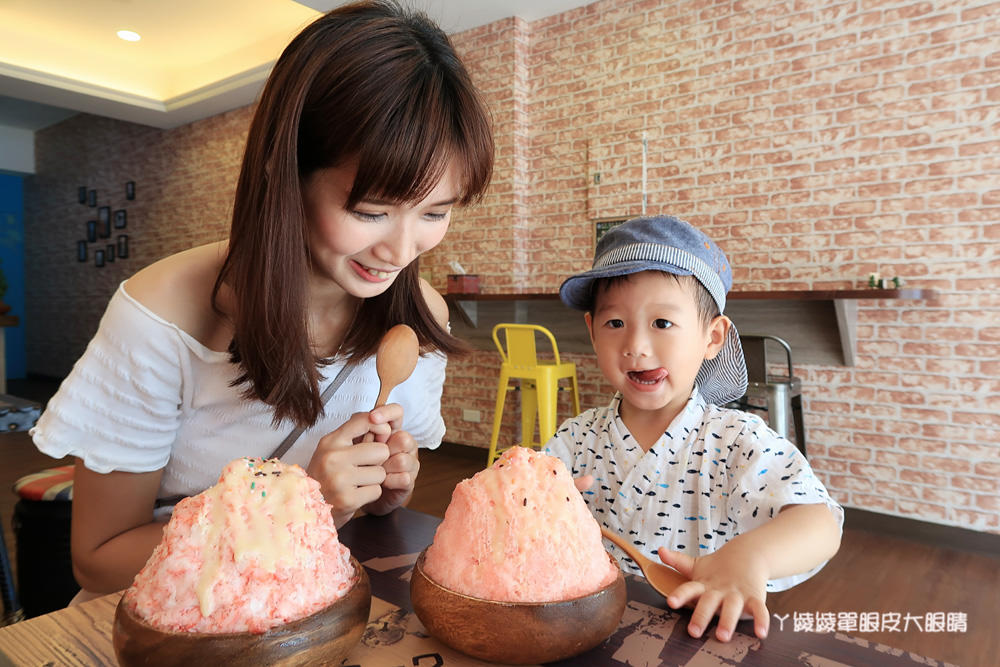 新竹冰店|永凍冰,不太會融化的冰!六月份指定水果冰品買一送一