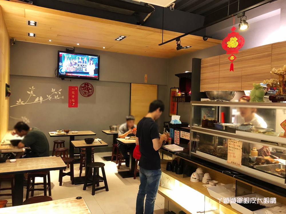 新竹美食小吃|旺來餃子館,光華東一街上好吃的炒飯、水餃、滷味