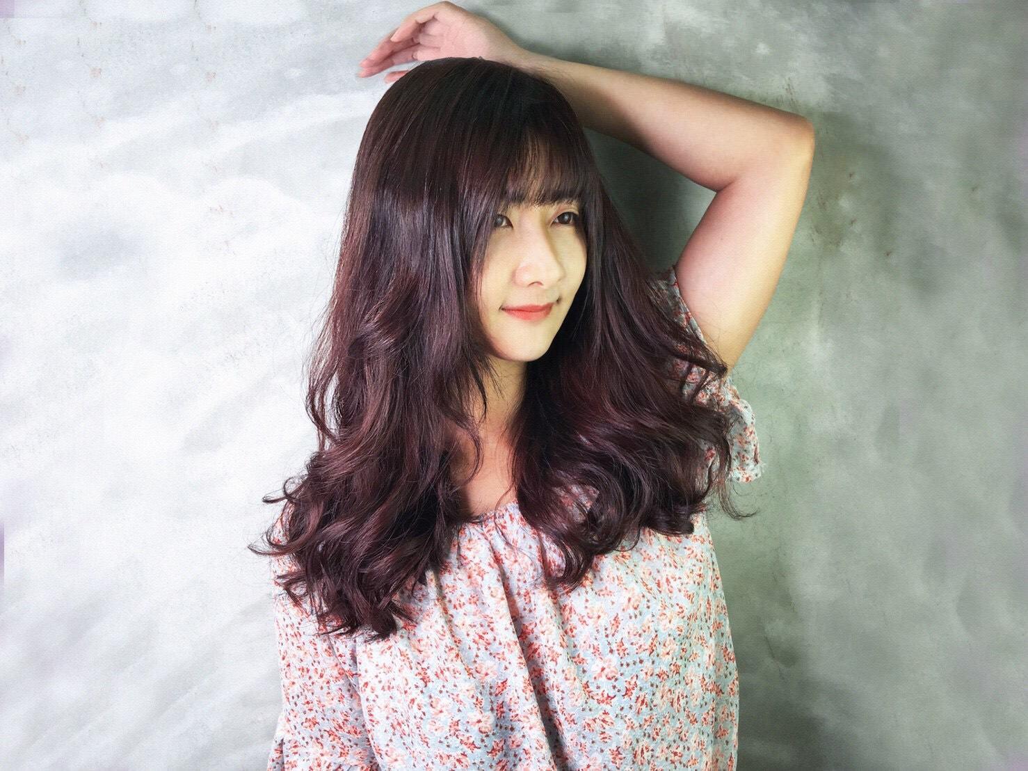 台中燙髮推薦HairCity髮城-溫塑燙給我美美的浪漫捲