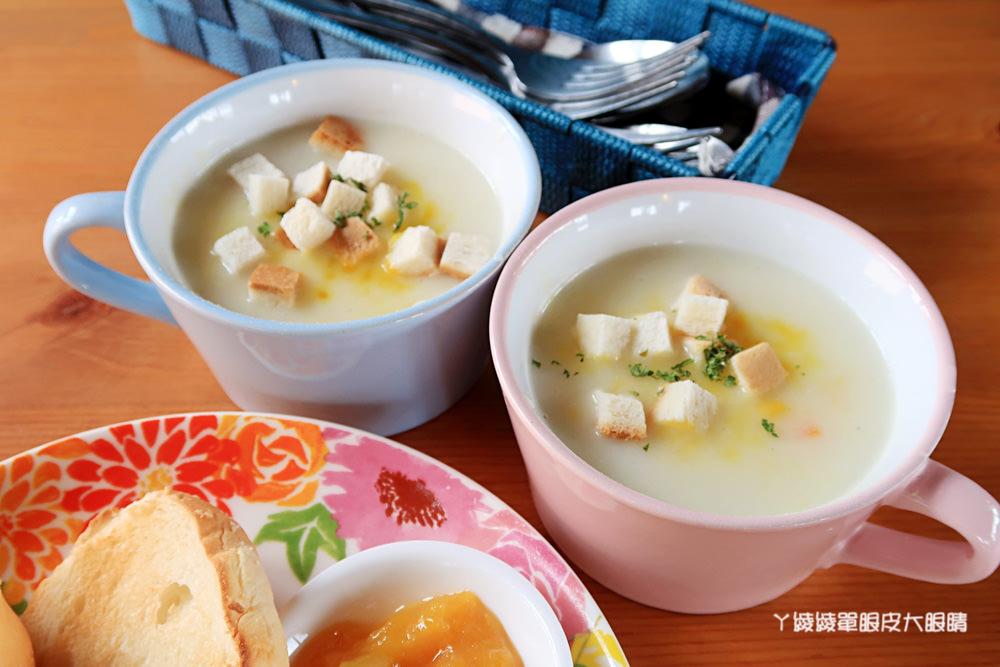新竹浪漫歐風美食餐廳!新埔普羅旺斯小木屋餐廳,消費打卡免費穿著童話裝扮
