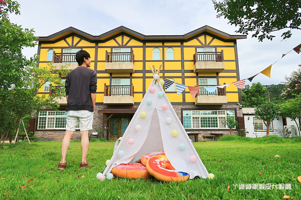 新竹浪漫歐風美食餐廳!網美也愛的帳篷野餐區,消費打卡免費穿著童話裝扮