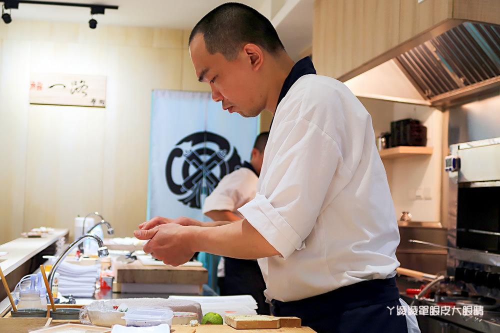 竹北日本料理推薦鮨一路壽司,超值午餐限定丼飯!新竹無菜單日本料理