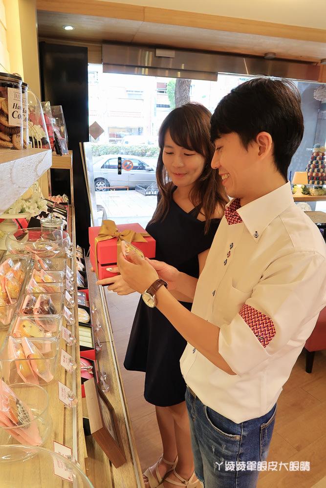 台北喜餅|充滿粉紅泡泡的JustSweet甜庄法式甜點、手工喜餅禮盒