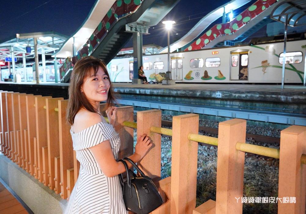 新竹香山火車站,全台唯一日式檜木火車站
