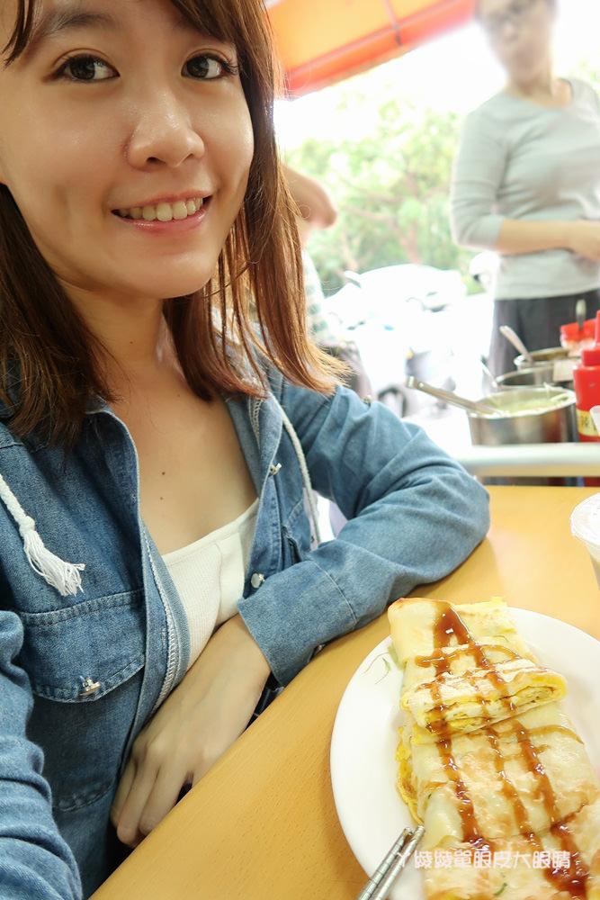 新竹早餐推薦!學府路手工小籠包蛋餅專賣店,人潮不斷的無名早餐店