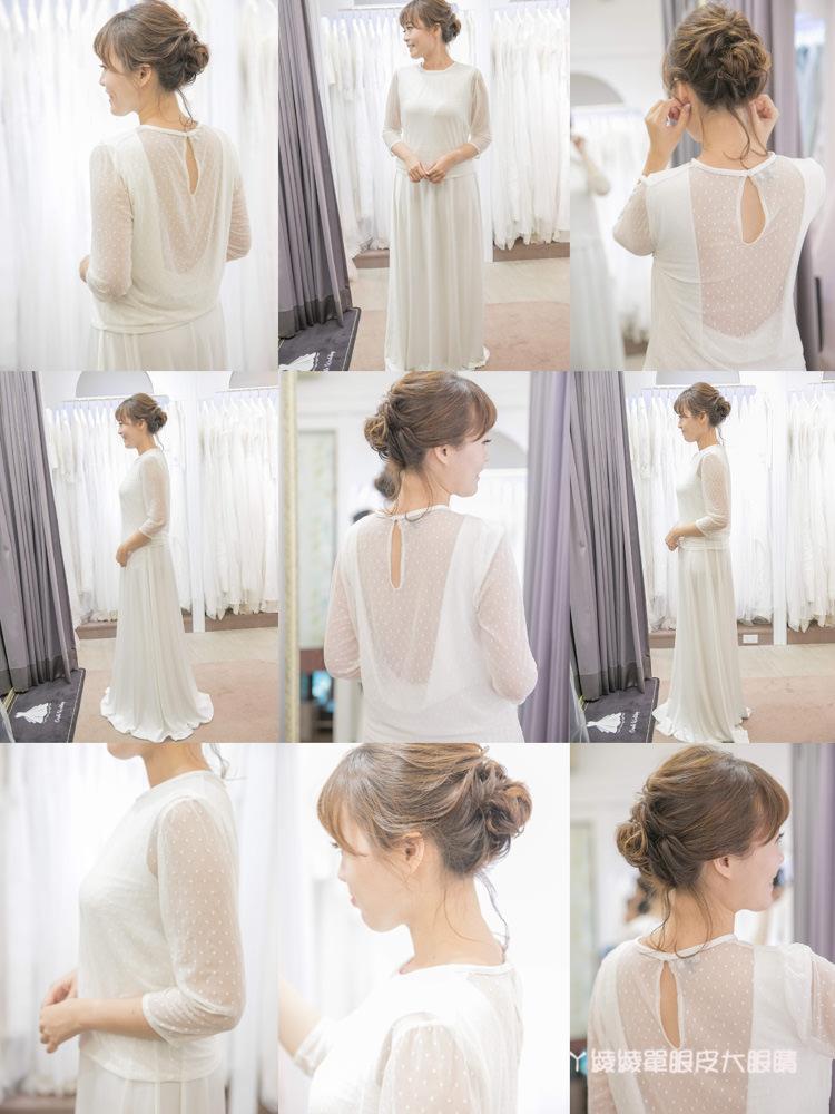 台中婚紗推薦!搖籃手工婚紗Cradle Wedding,新人都會著迷的美式禮服!
