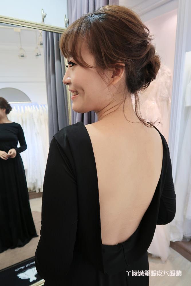 台中新秘|煒煒整體造型工作室,清新自然的妝感!美式婚紗造型穿搭分享