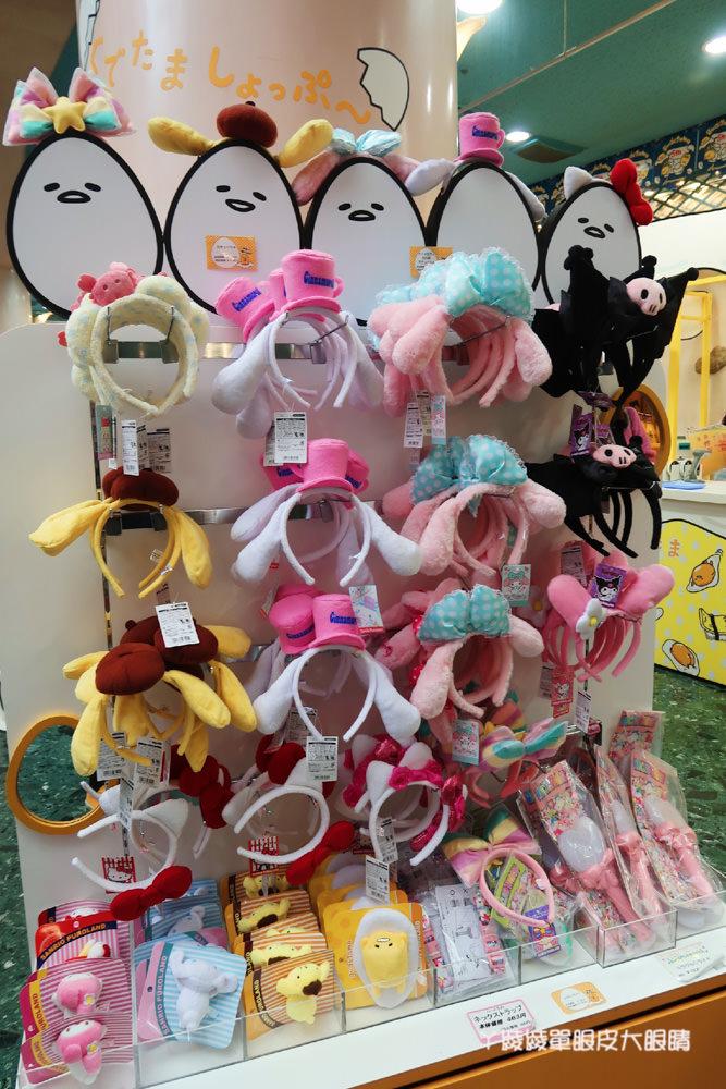 日本東京三麗鷗彩虹樂園!聖誕節限定餐飲大公開!Hello Kitty迷失心瘋勸敗主題商店