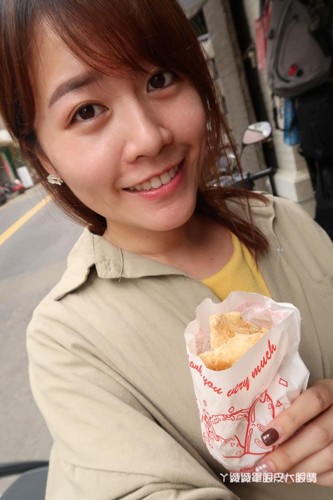 新竹古早味白糖粿,來自南部的美食小吃推薦!非常涮嘴的下午茶點心