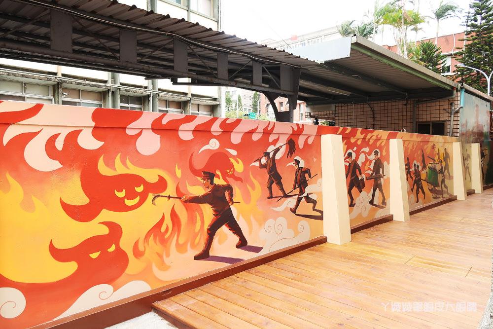 新竹市消防博物館 免費遛小孩!穿上帥氣消防衣體驗英勇救災