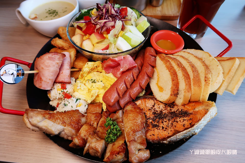 新竹早午餐推薦月亮先生咖啡館!竹北早午餐推薦