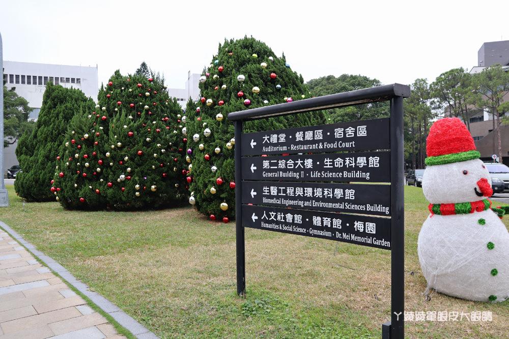 新竹清大梅園梅花開了!2019新竹旅遊景點,持續更新花況!清大校園路線地圖及附近美食