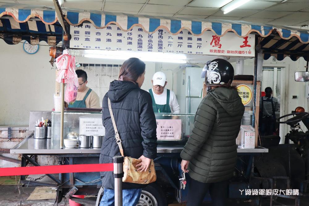 新竹肉圓推薦|內媽祖廟口肉圓,皮Q肉多的銅板美食小吃