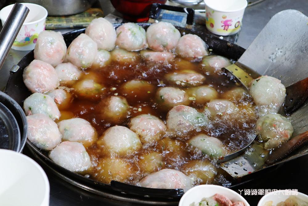 新竹玉龍肉圓,綜合湯只要四十五元
