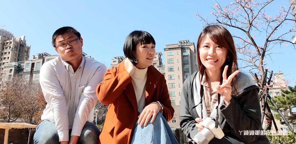 新竹麗池公園櫻花開了!新竹旅遊景點,新竹公園櫻花最新花況!