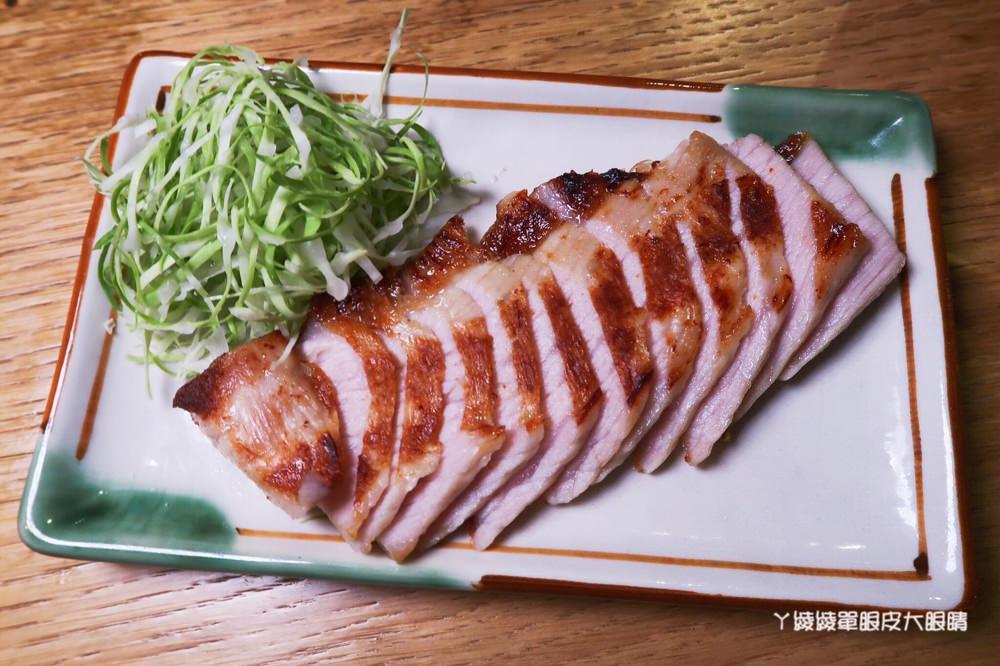 台北居酒屋推薦頑居酒炭火燒鳥,捷運中山站美食!超強職人雞肉刺身及限量牛滷肉
