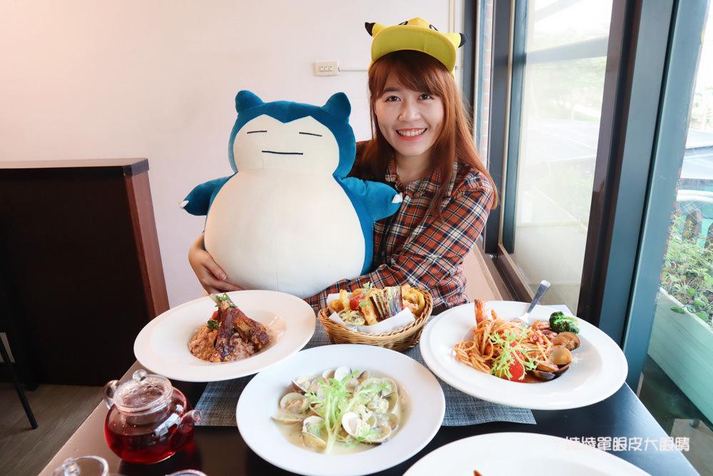 新竹竹北親子餐廳推薦流浪貓香草義式廚房,新開幕寶可夢主題美食餐廳!貓奴們快來找主子