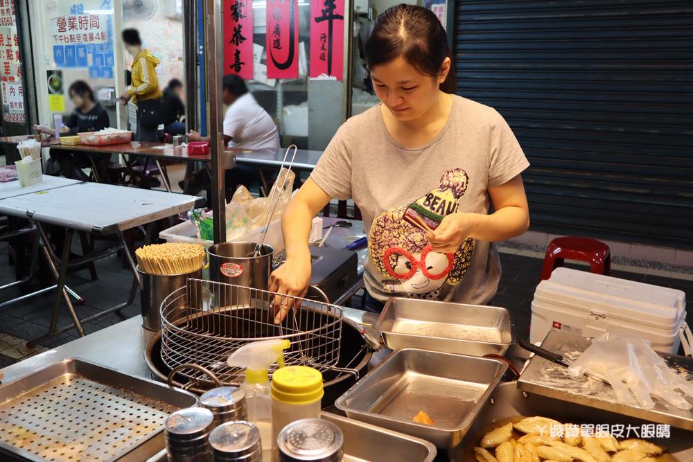 新竹城隍廟美食推薦!炸蛋旗魚黑輪,手工現做現炸外酥內Q!下午茶外送賣完為止