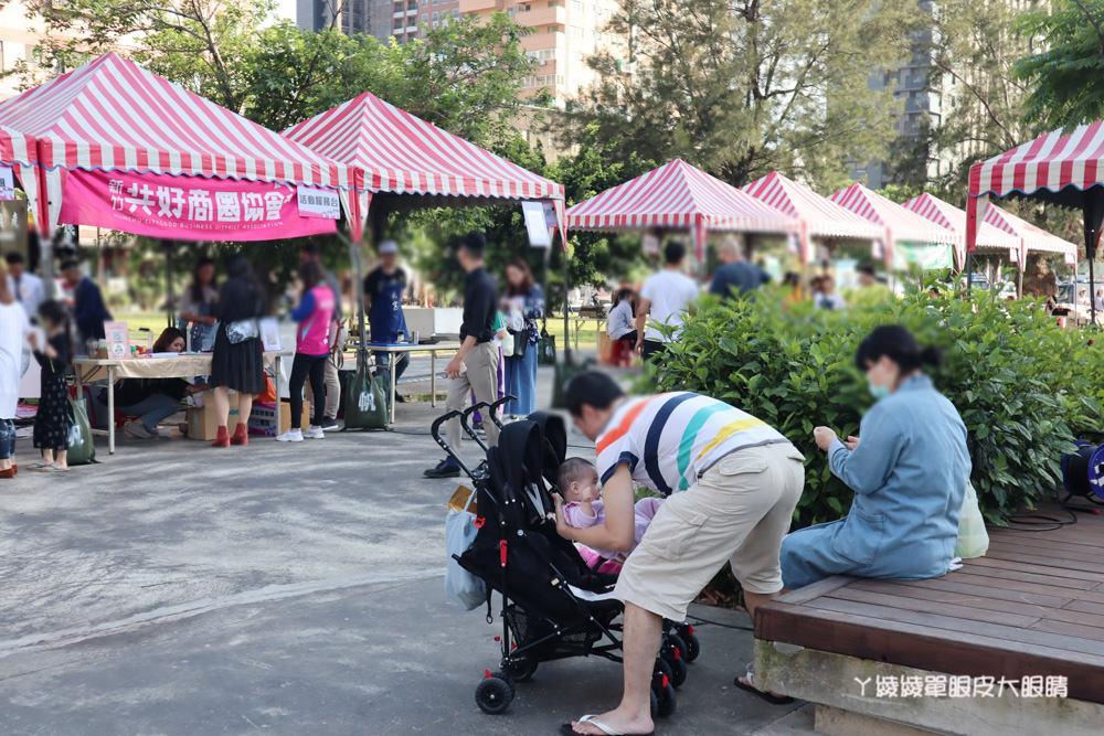 新竹錦華里感恩公益園遊會!超可愛的復仇者聯盟捏麵人!排完巨城快閃店到隔壁錦華公園逛市集