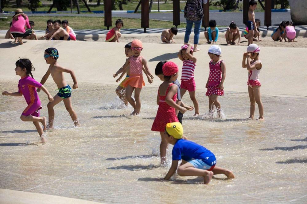 新竹免費旅遊景點,新竹漁港南寮親子沙灘強勢回歸!明天起開放戲水