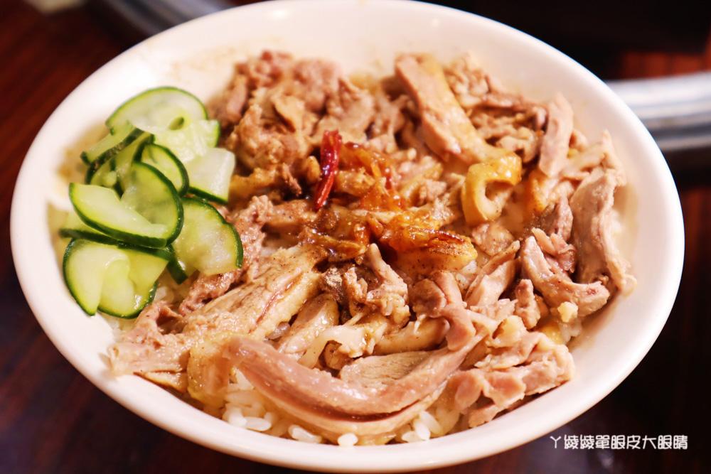 新竹美食推薦廟口鴨香飯!城隍廟口人氣美食小吃,必吃炒鴨血、炸餛飩、炒三杯鴨肉