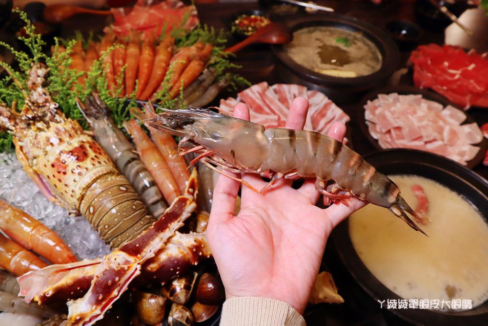 竹北火鍋吃到飽推薦鮮稻精緻鍋物!霸道海陸套餐、專屬好蝦套餐、肉肉套餐吃到爽