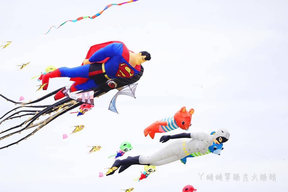 2019新竹市國際風箏節活動節目表、接駁車停車資訊整理!超人特攻隊、貓女將在新竹漁港登場