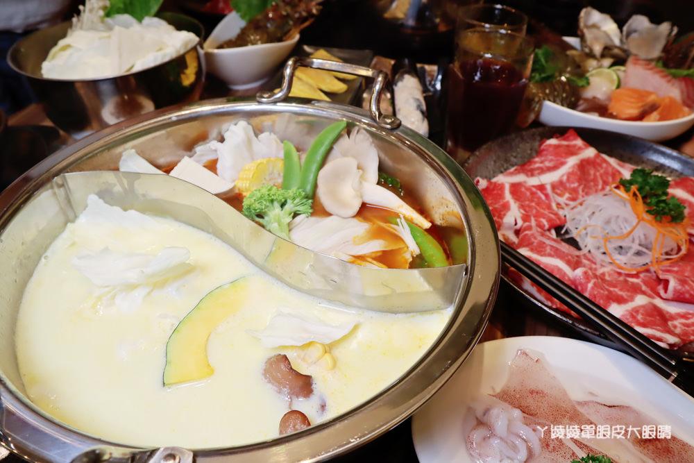 新竹巨城附近美食火鍋推薦香聚鍋物!一喝就上癮的火鍋湯頭,激推台灣優酪豬、手工香菜豬肉滑(已歇業)