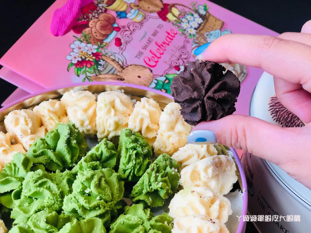 台中愛威鐵盒餅乾來新竹巨城快閃!入口即化的法式手工曲奇餅乾鐵盒,ㄚ綾綾粉絲專屬優惠