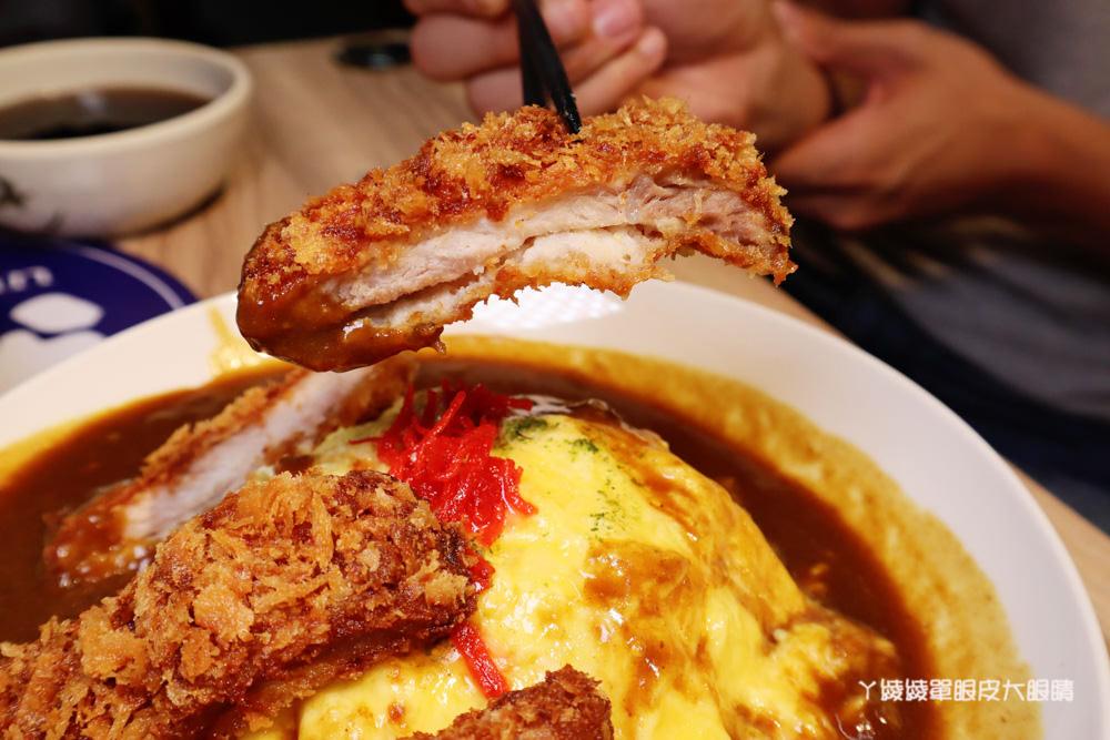 新竹東門市場美食!喜然海鮮泡飯推出三杯雞咖哩飯、超厚切豬排咖哩飯,CP值爆高