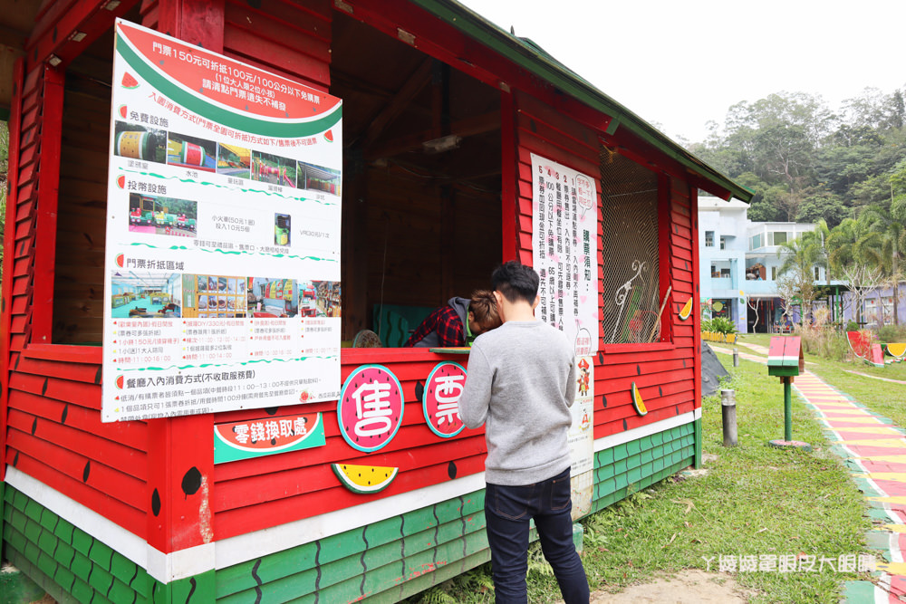 新竹親子旅遊景點推薦西瓜莊園!滿滿可愛的西瓜造景隨你拍,新竹西瓜主題樂園在北埔
