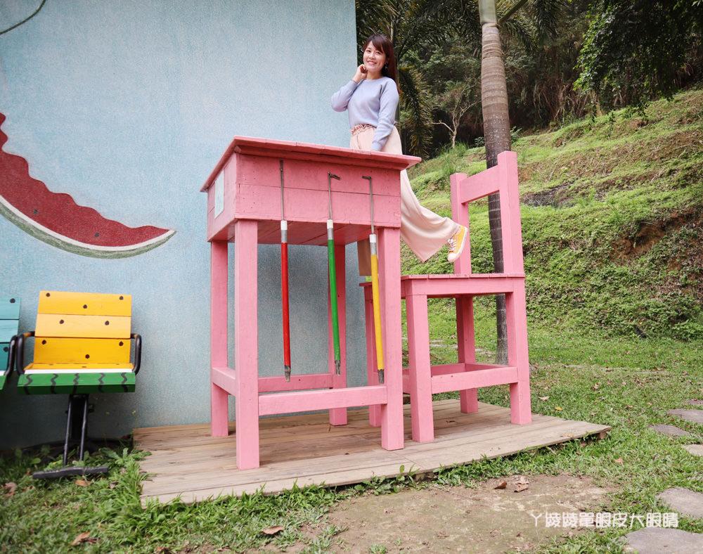 新竹親子旅遊景點推薦西瓜莊園!北埔山中的西瓜樂園,新竹網美IG拍照打卡熱門點