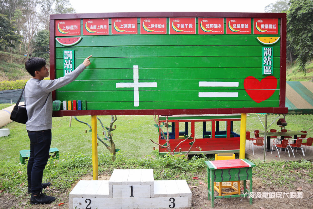 新竹旅遊景點推薦西瓜莊園!巨型西瓜桌椅在北埔,10個新竹網美必拍IG打卡熱門點