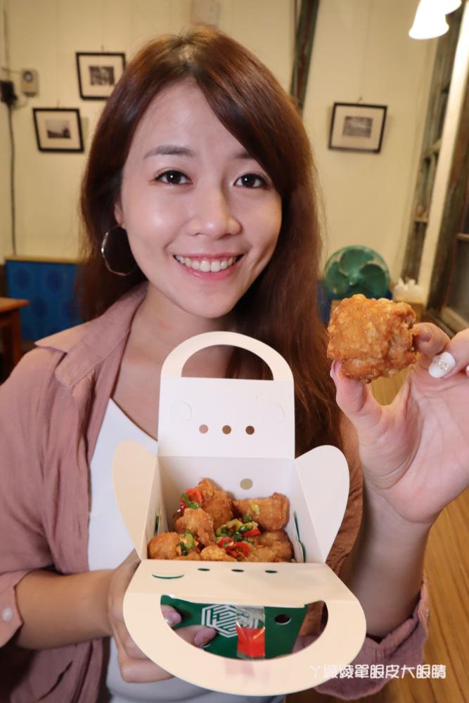 新竹美食推薦戲棚下!在百年老屋吃鮮嫩多汁的台日式炸雞,霸王別姬、鐵扇公主套餐你吃過沒
