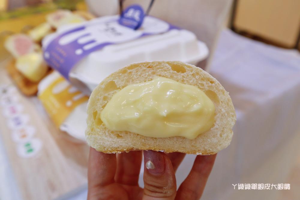 新竹美食竹北麵包推薦思源麵包蛋糕!竹北人35年的回憶,新上市噗啾雪球享受雙重口感