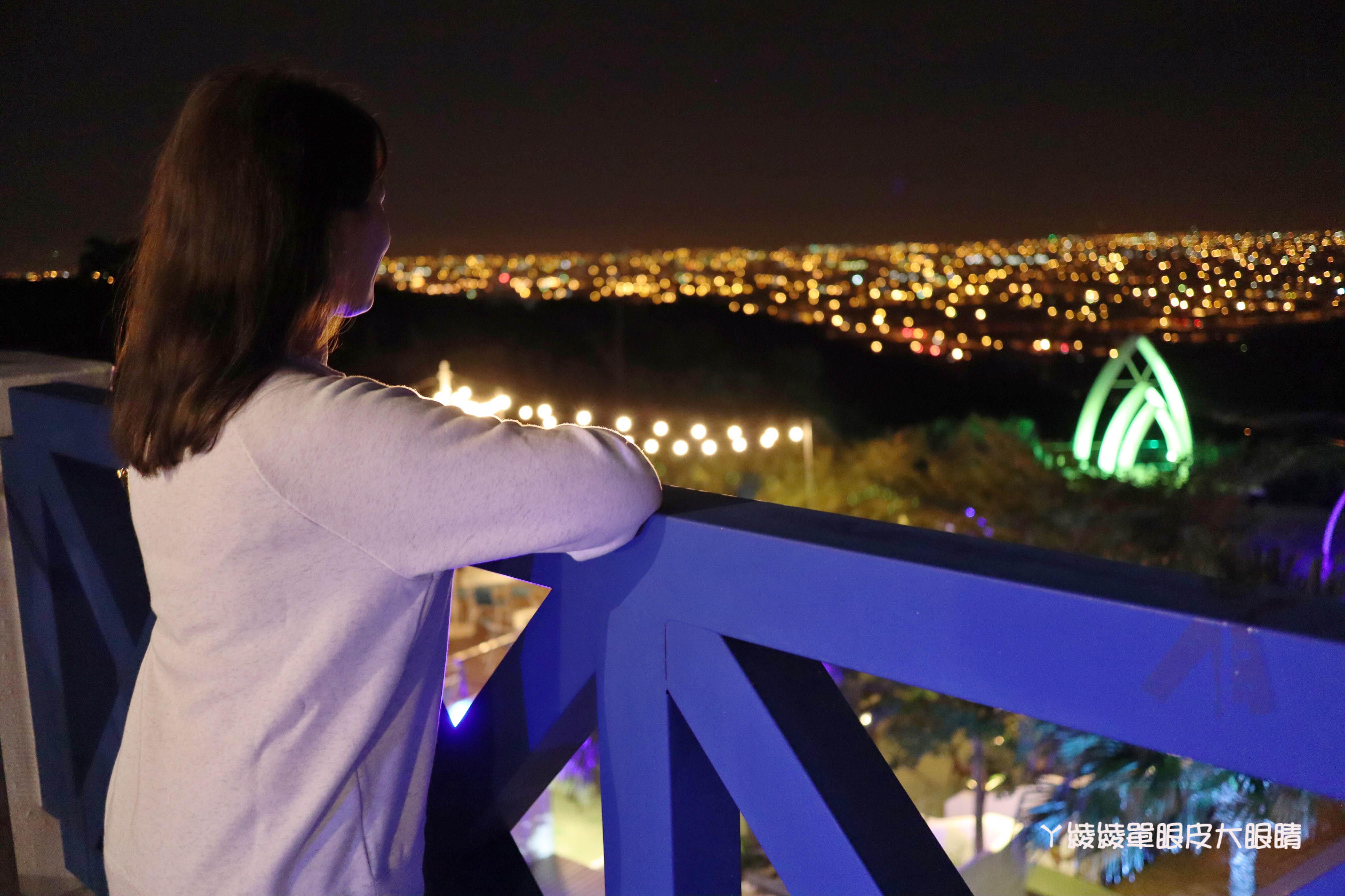 新竹賞夜景好去處!地中海異國風情建築超浪漫!週末帶女友出遊夜衝去