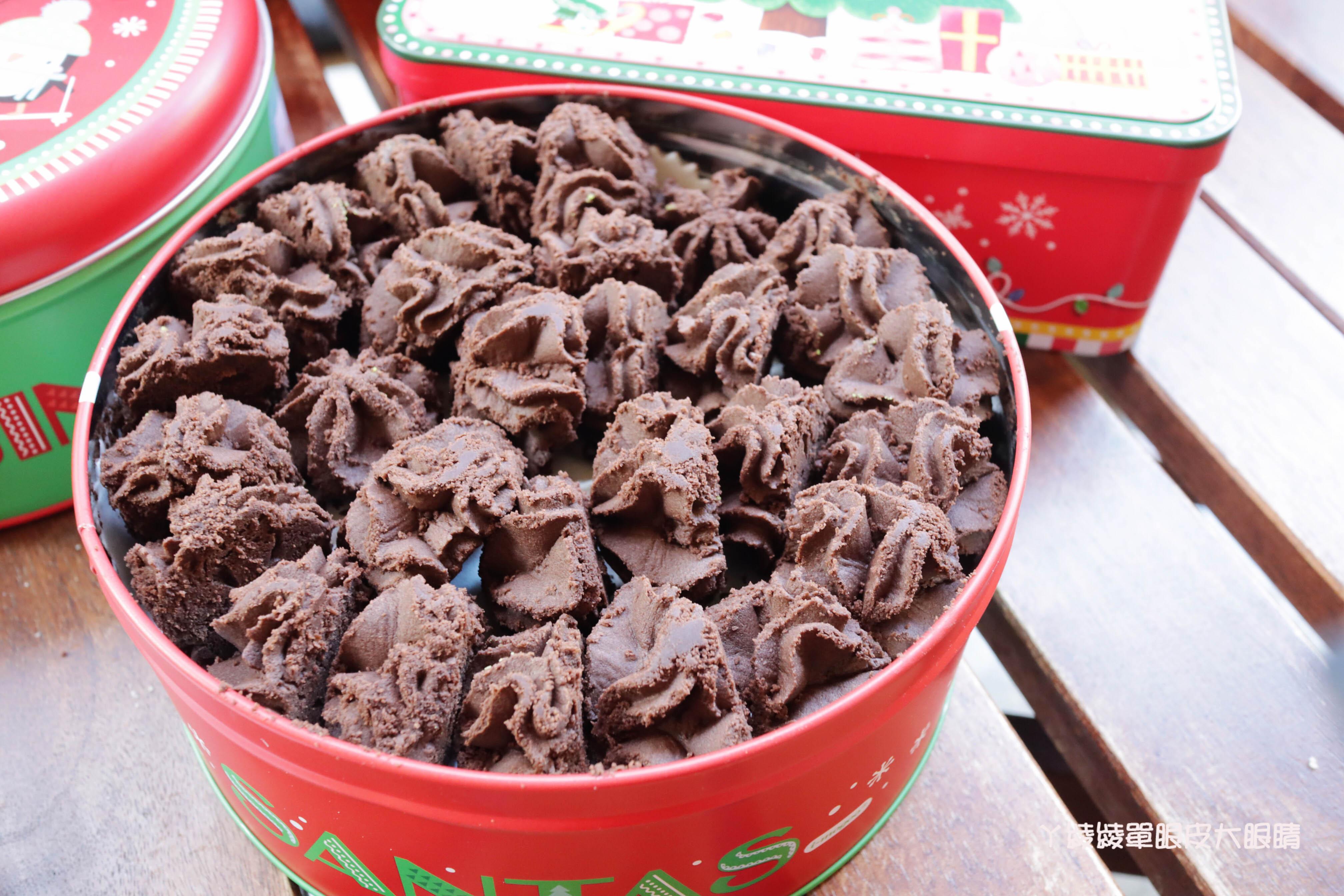 愛威鐵盒餅乾新竹巨城快閃店開跑!超人氣涮嘴曲奇餅乾聖誕鐵盒強勢回歸,新竹人買起來