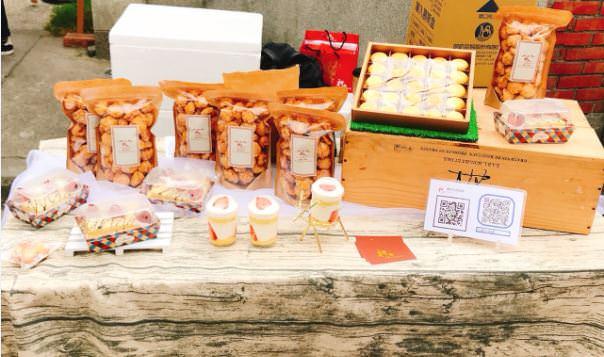 新竹湖口好客文創園區!五米高大雪人就在好客手感市集,週末來湖口逛市集遛小孩手作體驗