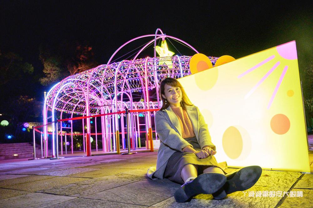 新竹公園出現可愛動物藝術裝置!城市躲貓貓藝術燈節明於麗池公園點燈!歡慶新竹市立動物園開幕