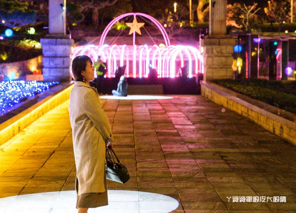 新竹公園出現七米高可愛大白兔!城市躲貓貓藝術燈節明於麗池公園點燈!慶新竹市立動物園開幕