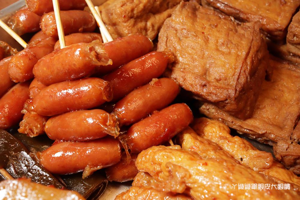 新竹滷味推薦秘醬滷味!來自上海的冷滷味,獨門滷汁香氣逼人!必吃巨大旗津黑輪片跟炸蛋